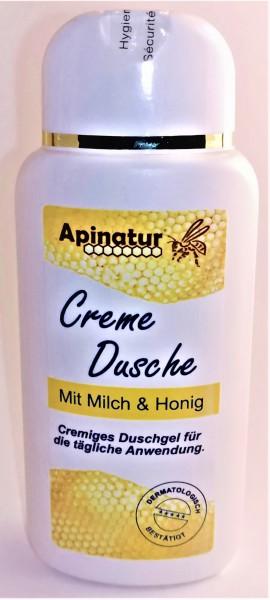 Milch-Honig Cremedusche