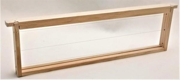 EWG® Rähmchen gedrahtet Dadant US 141 mm, gerade Seiten