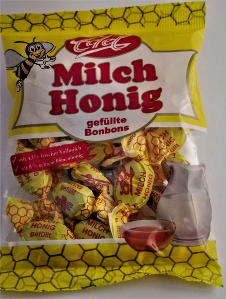Honig-Milch- Bonbons