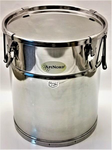 ApiNord® Lagerkübel 35 kg aus Edelstahl
