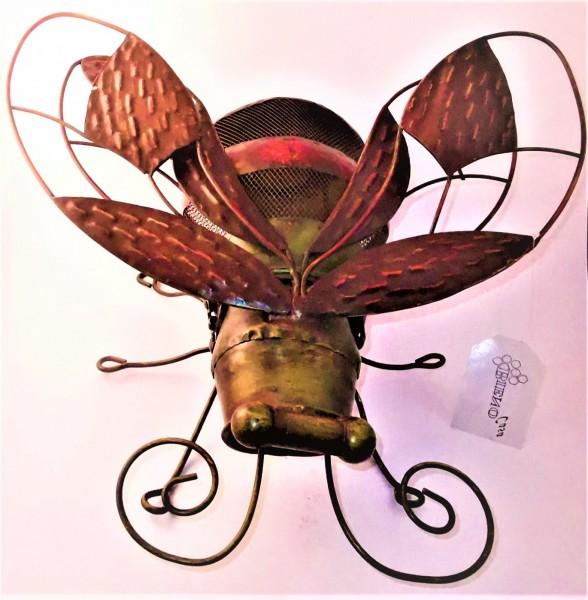 Windlicht Biene