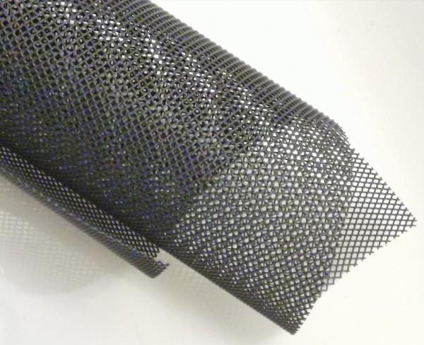 Graues Kunststoffgewebe 50 x 50 cm