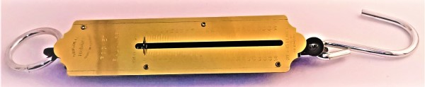 Taschenfeder-Waage 50 kg analog