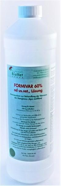 Formivar 60 % ad us. vet., Lösung Ameisensäure