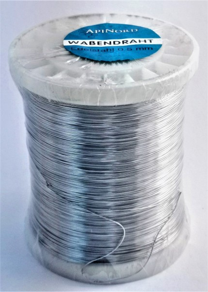 ApiNord® Wabendraht Edelstahl Ø 0,5 mm