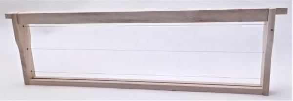 EWG® Rähmchen gedrahtet Dadant US 141 mm, Hoffmann-Seiten