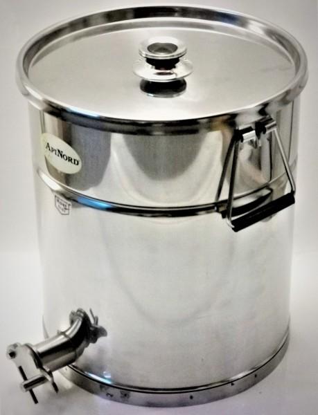 ApiNord® Abfüllkübel 35 kg aus Edelstahl
