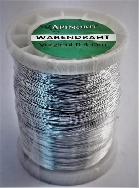 ApiNord® Wabendraht verzinnt Ø 0,4