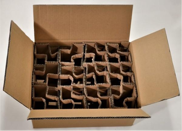 Honigversandkartons mit Einlagen für 12 x 500 g Gläser