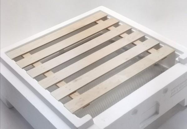 Holzbausperre für den Hochboden