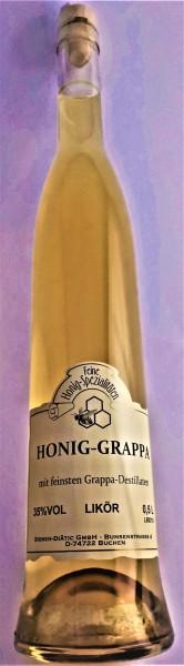 Honig-Grappa 0,5 l