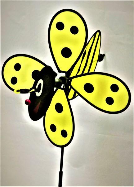 Gelbe Propellerbiene