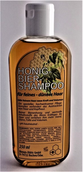 Honig-Bier-Shampoo