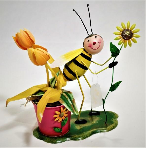 Bieno®Casa Blumentopf mit Sonnenblume