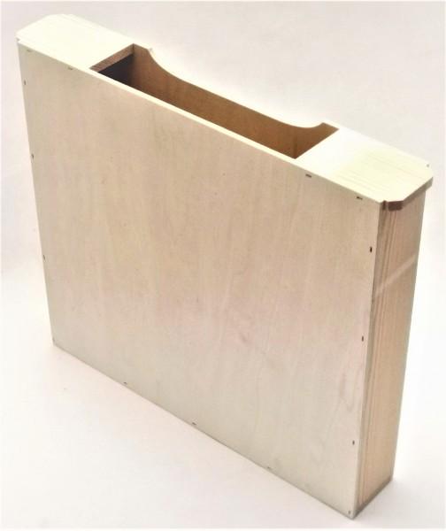 Holz-Futtertasche Normalmaß 1,5 doppelte Wabenbreite