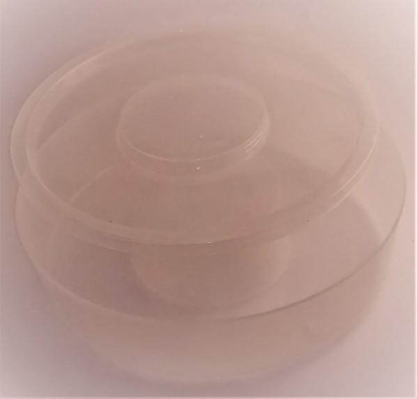Futtertrog 1,8 l rund, aus Plastik