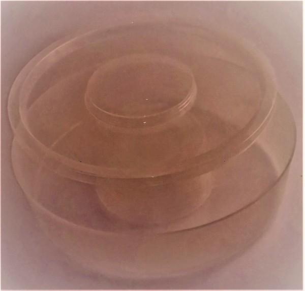 Futtertrog 1,5 l rund, aus Plastik