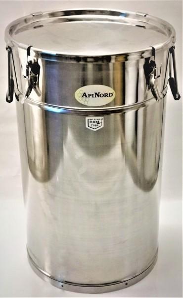 ApiNord® Lagerkübel 50 kg aus Edelstahl